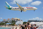 9Y-ANU - Boeing 737-8Q8 - Caribbean Airlines @ SXM