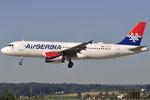 YU-APH - Airbus A320-232 - AirSERBIA