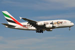 A6-EEI - Airbus A380-861 - Emirates - United for Wildlife livery