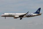 EI-RND - Embraer ERJ-190STD - Alitalia - SkyTeam livery