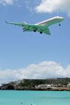 9H-VJM - Bombardier Global 6000 - VistaJet @ SXM