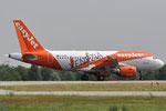 G-EZDW - Airbus A319-111 - EasyJet - Venezia Livery