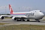 LX-VCE - Boeing 747-8R7(F) - Cargolux