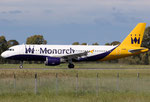 Airbus A320 Monarch G-ZBAH
