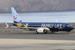 OO-JAF - Boeing 737-8K5 - TUI fly Belgium - Family Life Hotels livery @ LPA