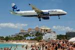 N506JB - Airbus A320-232 - JetBlue Airways @ SXM