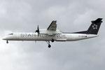 OE-LGO - Bombardier Dash 8 Q400 - Austrian Airlines - Star Alliance Livery
