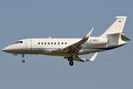 D-BEKY - Dassault Falcon 2000LX - private @ PSA