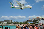 F-OIXH - ATR 42-500 - Air Antilles Express @ SXM