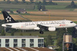 HB-IJN - Airbus A320-214 - Swiss - Star Alliance livery