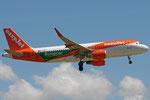 G-EZPC - Airbus A320-214 - EasyJet - Europcar livery @ PSA