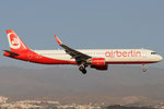 HB-JOU - Airbus A321-211 - Air Berlin @ LPA