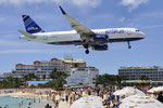 N821JB - Airbus A320-232 - JetBlue Airways @ SXM
