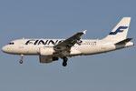 OH-LVK - Airbus A319-112 - Finnair @ PSA