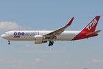 PT-MOC - Boeing 767-316(ER) - TAM Linhas Aereas - Oneworld livery
