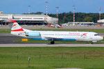 Fokker 100 Austrian Airlines OE-LVO