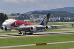 9V-SKJ - Airbus A380-841 - Singapore Airlines - SG 50 Livery