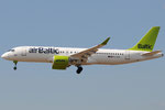 YL-CSA - Bombardier CS300 - Air Baltic