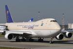 TF-AMU - Boeing 747-48EF(SCD) - Saudia Cargo