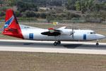Fokker 50 Amapola Flyg SE-MFA