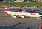 Airbus A340-300 Swiss HB-JMD