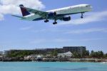 N680DA - Boeing 757-232 - Delta Air Lines @ SXM