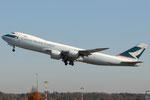B-LJB - Boeing 747-867(F) - Cathay Pacific Cargo @ MXP