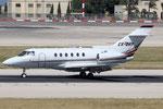 Hawker 800 Netjets CS-DRY