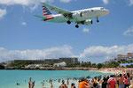 N700UW - Airbus A319-112 - American Airlines @ SXM