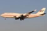 A6-COM - Boeing 747-433 - Dubai Air Wing @ PSA