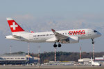 HB-JBC - Bombardier CS100 - Swiss @ MXP