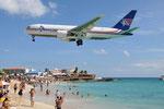N741AX - Boeing 767-232(BDSF) - Amerijet International @ SXM