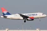YU-APE - Airbus A319-132 - AirSERBIA