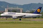 D-AILN - Airbus A319-114 - Lufthansa @ BLQ