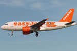 G-EZBG - Airbus A319-111 - EasyJet - Hamburg livery