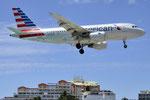 N733UW - Airbus A319-112 - American Airlines @ SXM