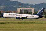 EI-FVA - Boeing 737-4Q8 - Blue Panorama Airlines @ BLQ