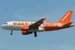 G-EZIO - Airbus A319-111 - EasyJet - Unicef livery @ PSA