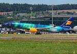 Boeing 757-200 Icelandair TF-FIU Aurora Livery