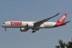 PR-XTA - Airbus A350-941 - TAM Linhas Aereas
