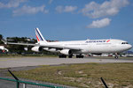 F-GLZK - Airbus A340-313 - Air France @ SXM