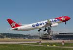 Airbus A330-200 Edelweiss Air HB-JHQ