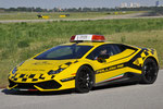 "Lamborghini ""Follow me"" car @ BLQ"