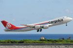 LX-VCF - Boeing 747-8R7(F) - Cargolux
