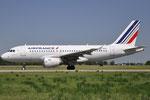 F-GRHS - Airbus A319-111 - Air France @ BLQ