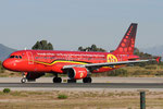 OO-SNA - Airbus A320-214 - Brussels Airlines - Belgian Red Devils livery