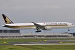 9V-SWR - Boeing 777-312(ER) - Singapore Airlines