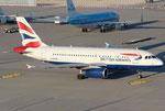 Airbus A319 British Airways G-EUOA