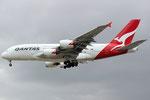 VH-OQK - Airbus A380-842 - Qantas