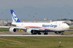 Boeing 747-800 Nippon Cargo JA-18KZ